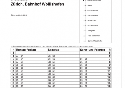 185 Eichenweg (ZIS) - Wollishofen
